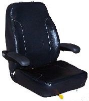 Seats Inc Trimline Mid Back Upper