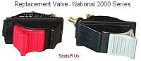 National Cushion Aire Valve Latest 2000 Air Lumbar