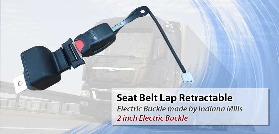 Seat Belt Lap IMMI 2 inch Electric Buckle