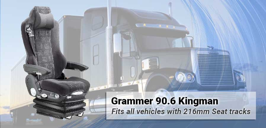 Grammer Actros 90.6 Kingman with 216mm seat tracks