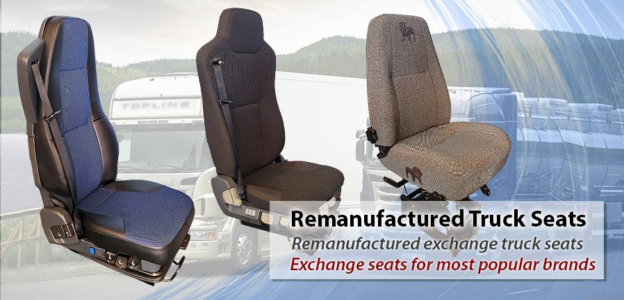 Remanufactured Truck Seats